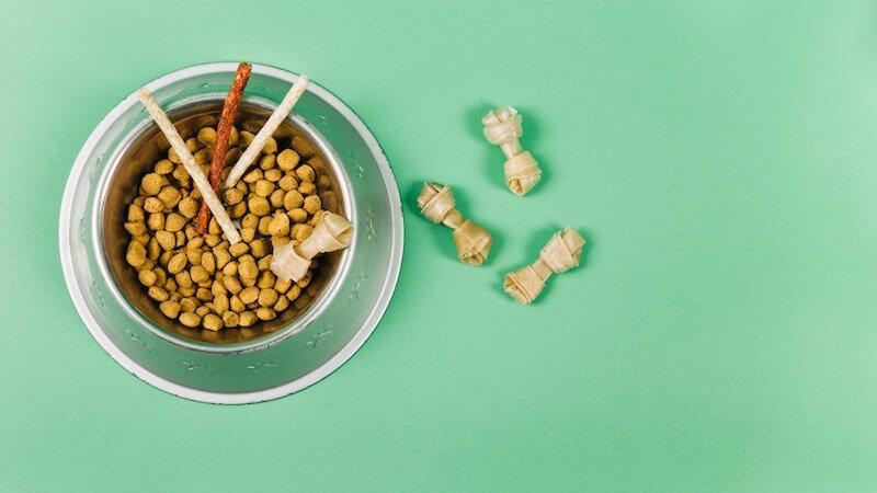 Attention aux légumes dans les croquettes pour chien anti-flatulences